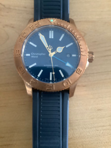CHRISTOPHER WARD C60 Trident Bronze GMT 600 Limited Edition