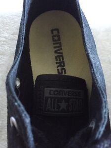 Women's All Star Converse! All Black Shoes Kawartha Lakes Peterborough Area image 6