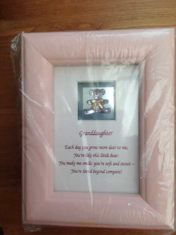 Baby Granddaughter Frame With Message In Hull East Yorkshire