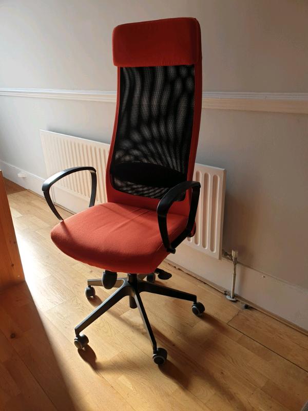 ikea markus swivel office chair  in greenwich london