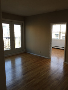 1 bedroom apt,March 1st,french balcony