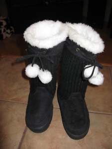Women's knit boots for sale