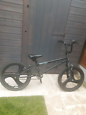 Bmx with mag wheels