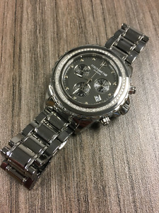 Michael Hill Chronograph Watch with total 1/2 Carat of Diamonds