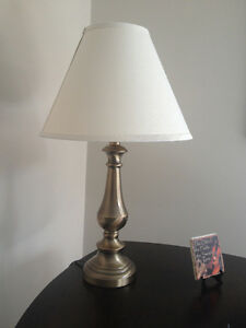Clean Brass coloured Table Lamp