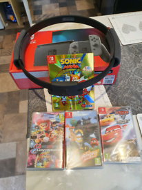 Nintendo switch as new bought April 21