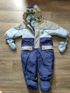 Habit de neige pour bébé grandeur 24m