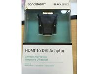 Sandstrom HDMI to DVI adaptor
