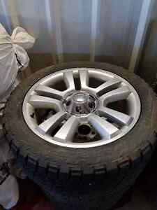 "22"" Factory Harley Rims and three tires for F150"