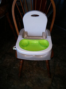 Deluxe Booster / Feeding Chair - Unisex, attaches to any chair