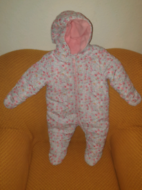 Baby snowsuit, age 6-9 month