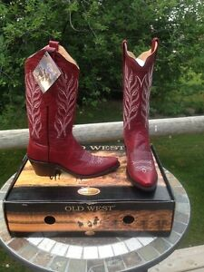 Brand New Leather Cowgirl Boots