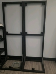 Cast iron upright boxing bag/trx wall suspension