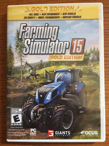Farming Simulator Gold Edition 2015