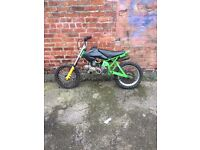Sr stomp racing 140cc spares or repairs 100 takes it