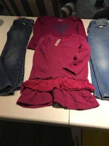 LIKE NEW! Girls 4T WINTER/SPRING CLOTHS