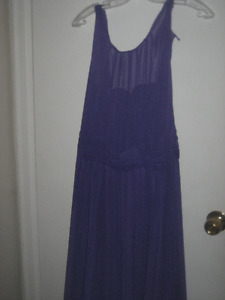 REDUCED: Womans Dress (Long)  - Beautiful Purple/Periwinkle blue