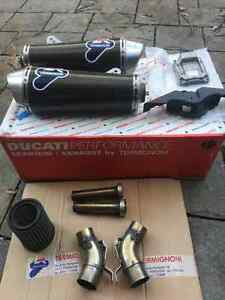 Termignoni exhaust - 2009 Ducati Monster 1100