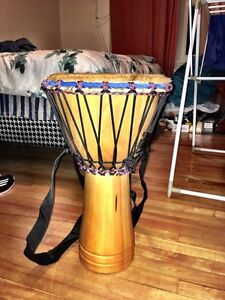 Authentic Hand Carved Djembe