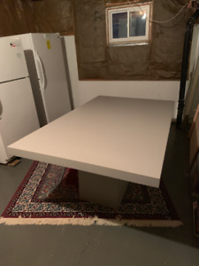 Grey Contemporary Kitchen/ Dining Table (Mint Condition)
