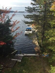 Camp on Agnew lake near Sand Bay campground ready for new owner