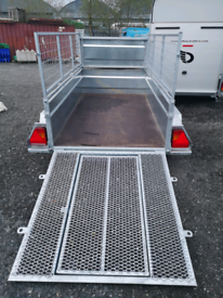 Trailer car trailer 8x4 lawnmower sheep