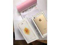 Iphone Se 16gb Gold unlocked with 7 month Apple warranty