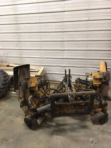 10' Trackless Front Mount Mower