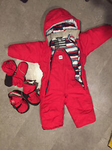 Infant winter clothes! Snowsuits!