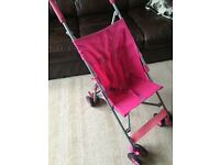 Lightweight buggy / pushchair