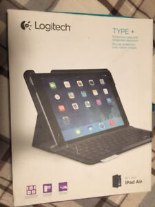 Logitech Type+ iPad Air cover with BlueTooth Keyboard