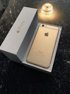 Mint Condition iPhone 6 16GB Gold Kitchener / Waterloo Kitchener Area image 1