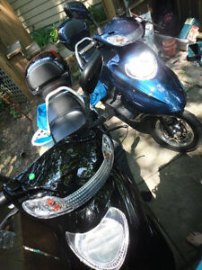 Two used Scooters for sale