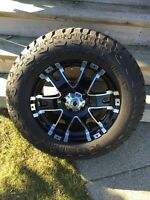 "18"" Rims and tires (MINT)"