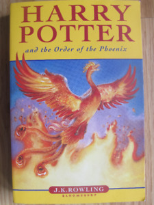 HARRY POTTER and the Order of the Phoenix – 2004 1st