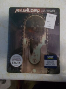 Ash Vs. Evil Dead Season 1 Blu-Ray Best Buy Exclusive, Sold Out!