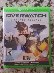 Overwatch- Xbox One- Origins Edition- Mint
