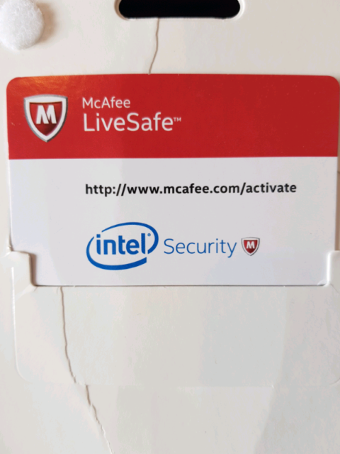 McAfee LiveSafe Ultimate Protection For All Devices  | in Amersham,  Buckinghamshire | Gumtree