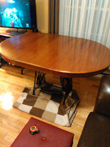 Unique Singer Dining Room Table