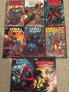 Marvel's Cable and Deadpool complete volume set