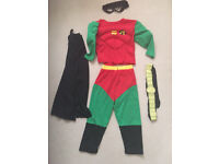Robin dress up costume age 3-5