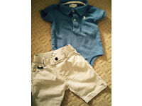 Baby designer clothes reduced 6 months and 6-9 months