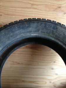 Firestone Winterforce 225/60r18 studded 2 tires almost new