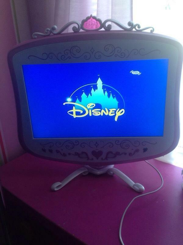 Disney Princess tv And Dvd Player Princess tv Dvd Player