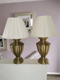 Pair of Large table lamps