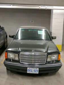Classic 1989 Mercedes 560 SEL ONLY SUMMER DRIVEN