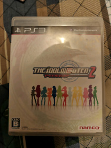 Idol master 2 japanese import ps3