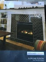 Gas fireplace - Never used!