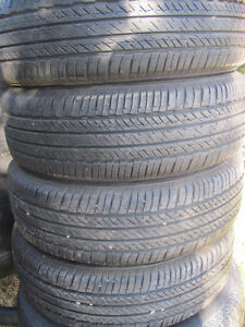 Set of Four, 175/65 R 15, M & S, Bridgestone Tires,Lots of tread Prince George British Columbia image 1