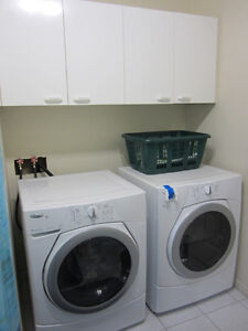 Washer and Dryer / Laveuse et sécheuse Whirlpool